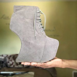 Heel-less Lady Gaga Platform Booties (RARE)